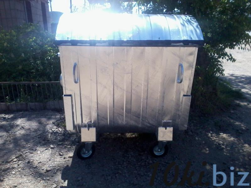 Мусорный контейнер 1,1 м3 оцынкованый купить в Белой Церкви - Бочки металлические