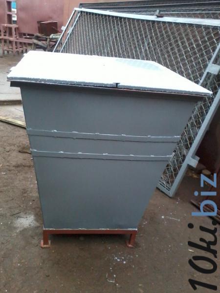 Мусорный контейнер 0,75 м3 з кришкой купить в Белой Церкви - Бочки металлические