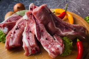 Фото  Мясо свежее свиное