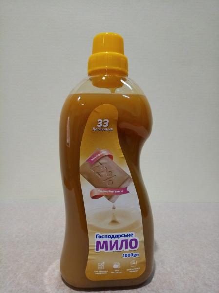 Мыло-гель хозяйственное 72% (жидкое) NEW, 1000мл