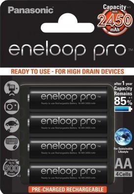 Аккумулятор  PANASONIC Eneloop Pro AA/R6 min 2450mAh