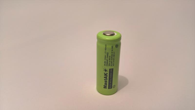 Аккумулятор технический MastAK 2/3AAA 1,2V 400mAh (Ni-Mh)