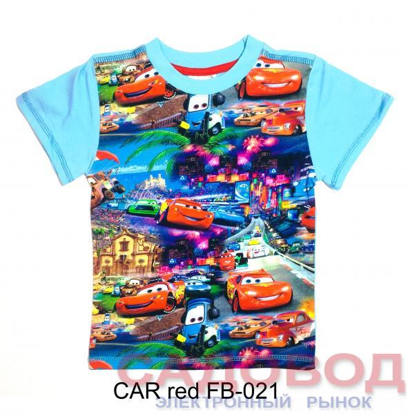 CAR FB-021 Футболки детские для мальчиков на рынке Садовод