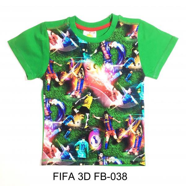 Фото От 2 до 6 лет, ФУТБОЛКИ FIFA 3D FB-020