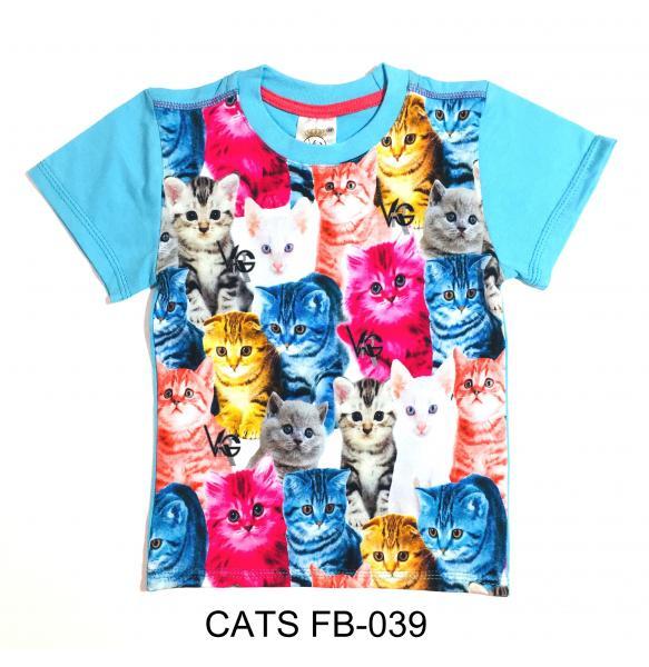 Фото От 2 до 6 лет, ФУТБОЛКИ CATS FB-039