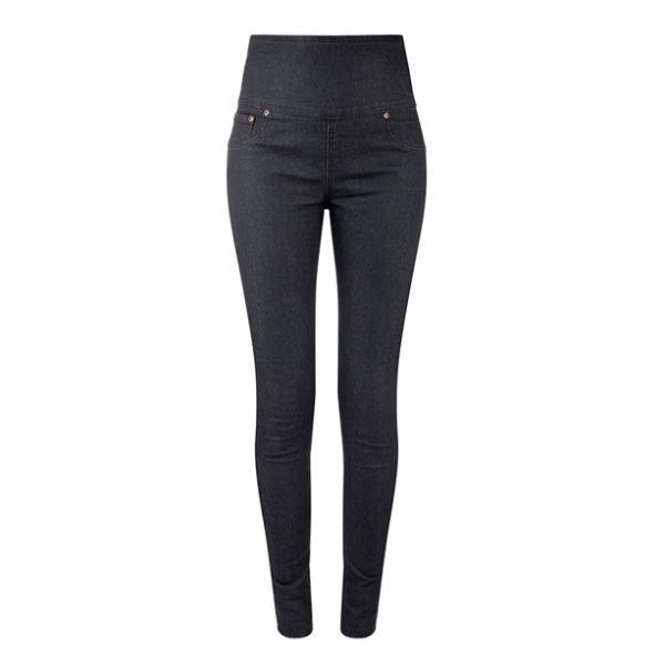 Женские брюки (джегінси). Черные
