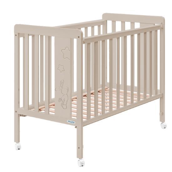 Детская кроватка Micuna Rabbit 120х60 + Матрас полиуретановый СН-620