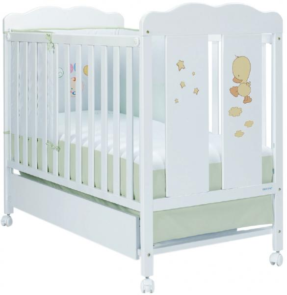 Детская кроватка Micuna Dido (колесо) 120x60 см