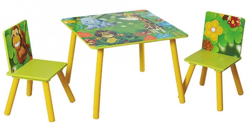 Стол со стульями Makaby