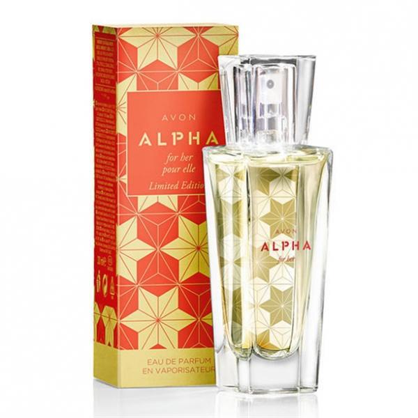 Фото парфюмерия, женские ароматы Парфюмерная вода Avon Alpha (30 мл)