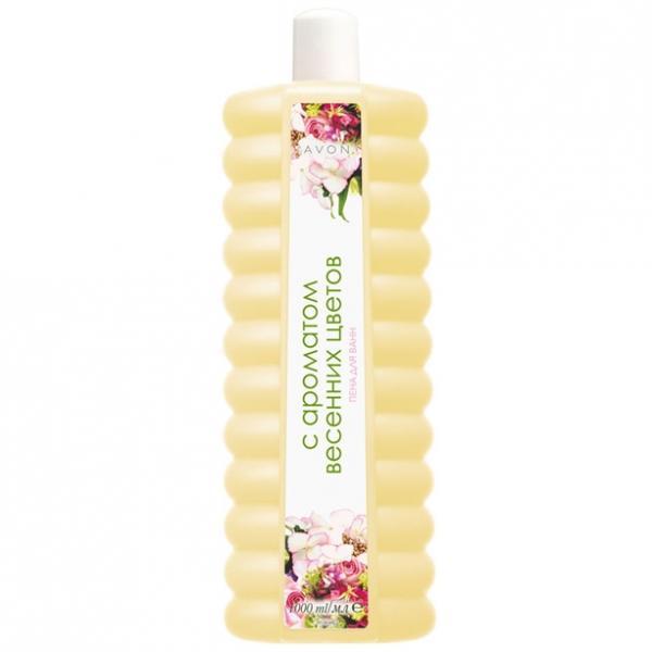 Пена для ванны с ароматом весенних цветов (1000 мл)
