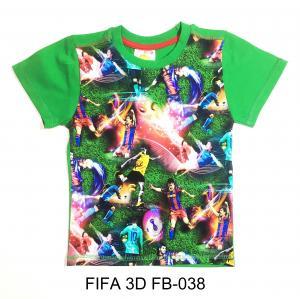 Фото ДЛЯ МАЛЬЧИКОВ, ФУТБОЛКИ Футболка FIFA 3D FB-020