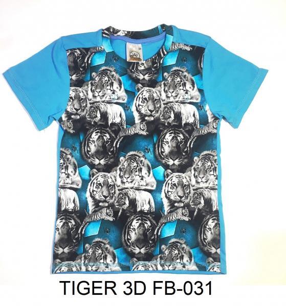 Футболка TIGER 3D FB-031