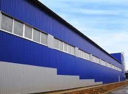 Фото  Профнастил лучшее решение для склада