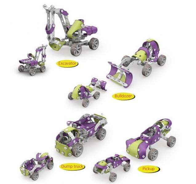 Детский конструктор JoyBuild Equipment 228 деталей