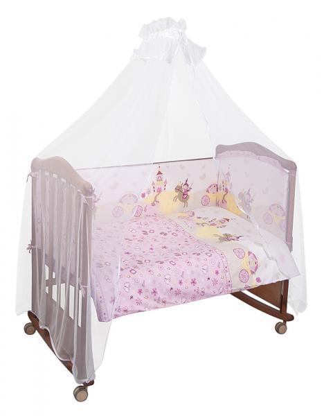 Детское постельное белье Сонный Гномик Золушка 3 предмета