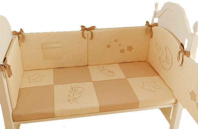Комплект в кроватку Makkaroni Kids Лунная соната 6 предметов