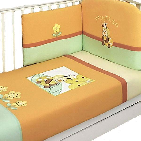 Комплект в кроватку Feretti Princess 6 предметов