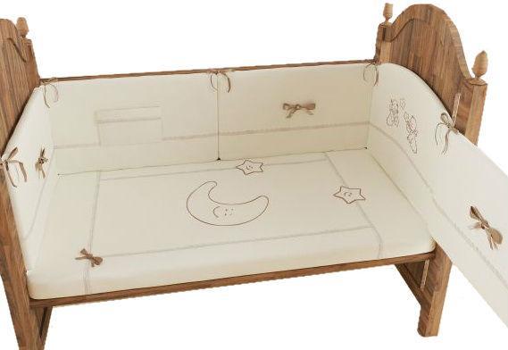Комплект в кроватку Makkaroni Kids Волшебная сказка 6 предметов