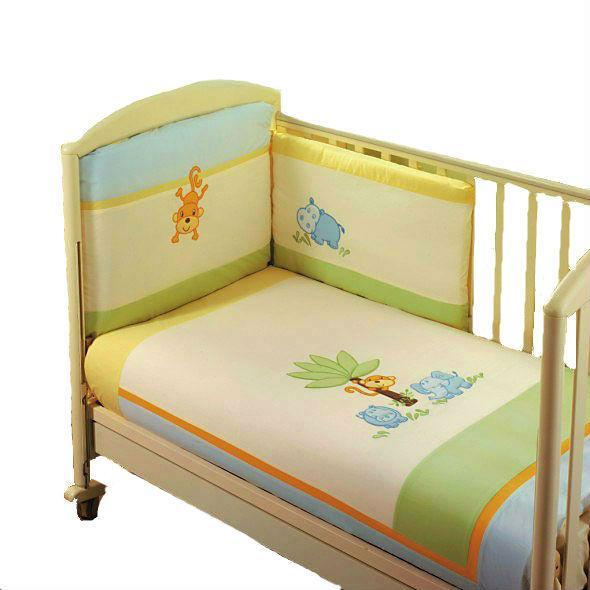 Комплект в кроватку Feretti Jungle 6 предметов