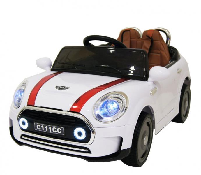 Детский электромобиль River Auto Mini cooper C111CC с дист. упр