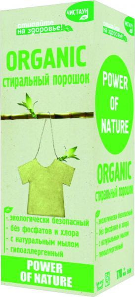 Стиральный порошок Чистаун Organic 600 гр.
