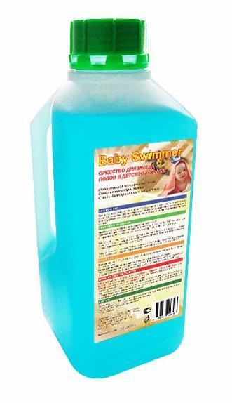 Жидкое средство для мытья полов в детской комнате Baby Swimmer 1000 мл.