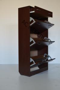Фото  Шкаф для обуви на 3 отделения + ящик