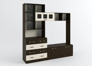 Фото  ДСВ мебель-Гостиная Ронда модульная