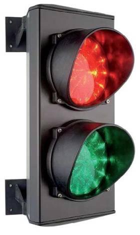 Светофор Т8,3 двухсекционный 120 мм светодиодный, CAME