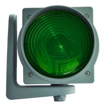 Светофорная лампа Т8.3  130 мм, зеленая, красная, AN-Motors