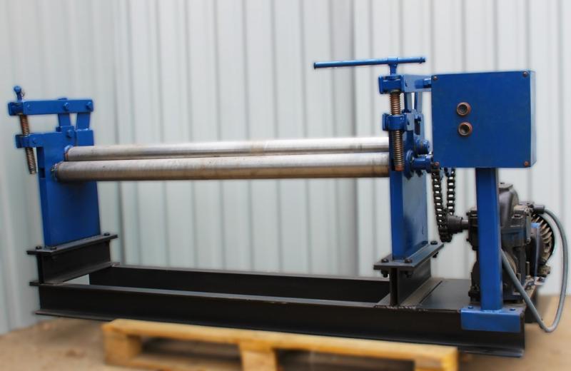 Вальці БілЕко БВ-1300 трьохвалкові електромеханічні