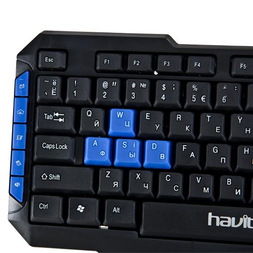 Фото  Клавиатура игровая HAVIT HV-KB327 USB