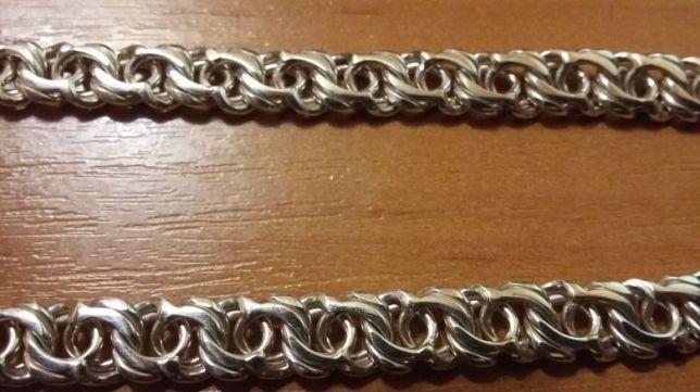 Фото Цепочки и браслеты ручного плетения Плетение Арабский Бисмарк
