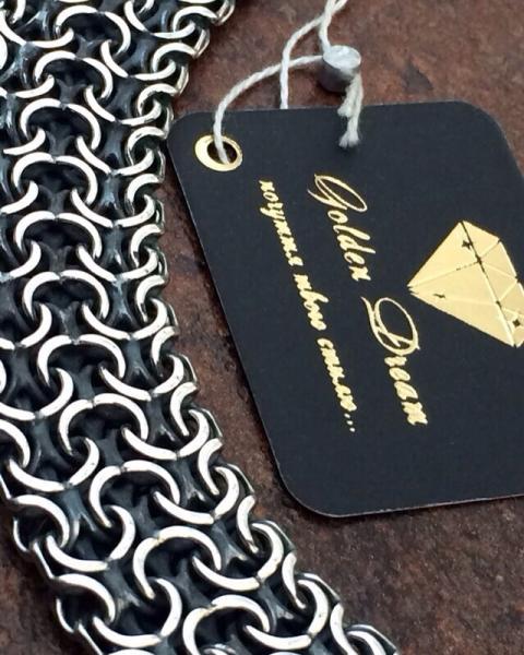 Фото Цепочки и браслеты ручного плетения Четырёх-рядный Рамзес