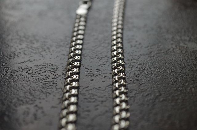 Фото Цепочки и браслеты ручного плетения плетение Бисмарк