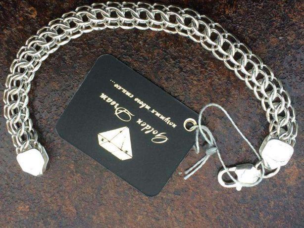 Фото Цепочки и браслеты ручного плетения Плетение Кардинал (Питон)