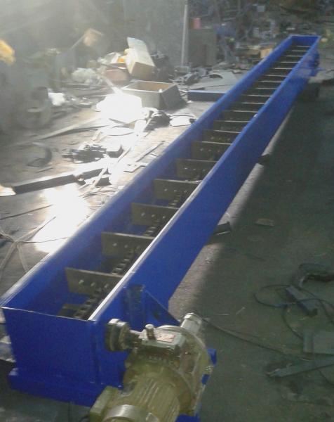 скребковый цепной конвейер, ланцюговий скребковий транспортер