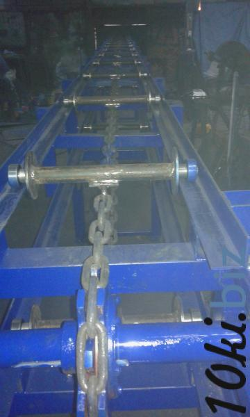 конвейер цепной роликовый для бревен, конвеєр для колод купить в Белой Церкви - Лесозаготовительное оборудование, дровоколы