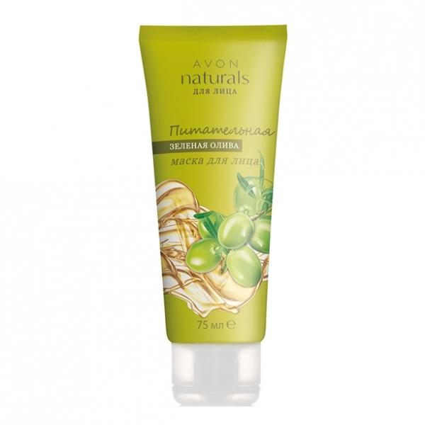 Питательная маска для лица «Зеленая олива» (75 мл)
