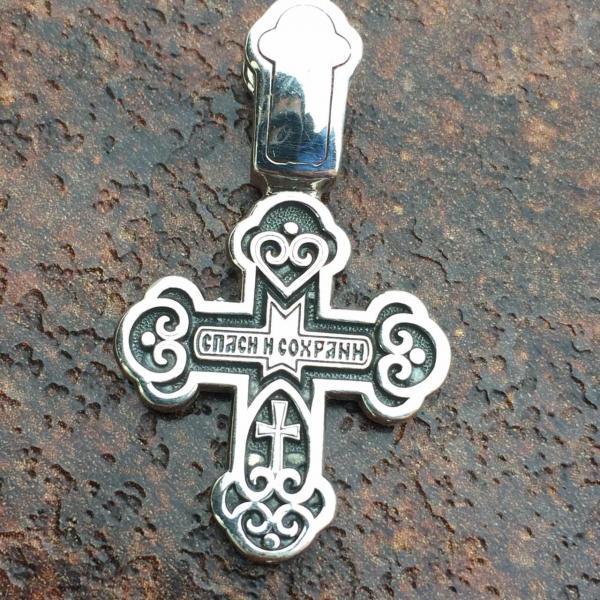 Фото Кресты Крест Распятие Христово серебро 925
