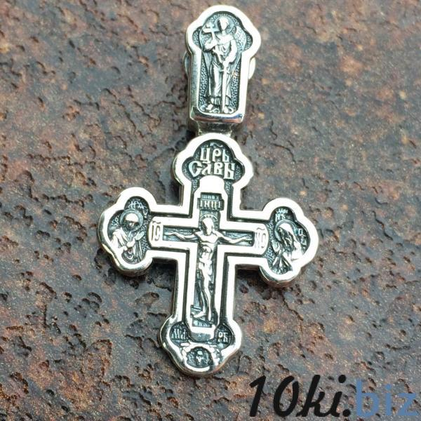 Крест Распятие Христово серебро 925 купить в Виннице - Серебряные цепочки с ценами и фото