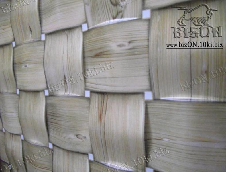 Фото Листовые панели ПВХ Косичка «ДУБ»   Листовые панели ПВХ