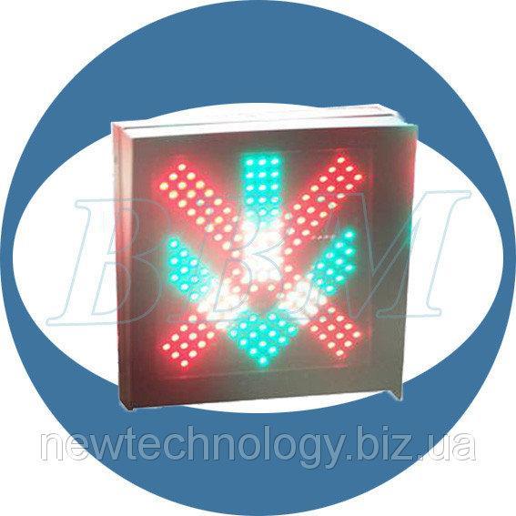 Светофор Т4 реверсивный односекционный 400 мм светодиодный