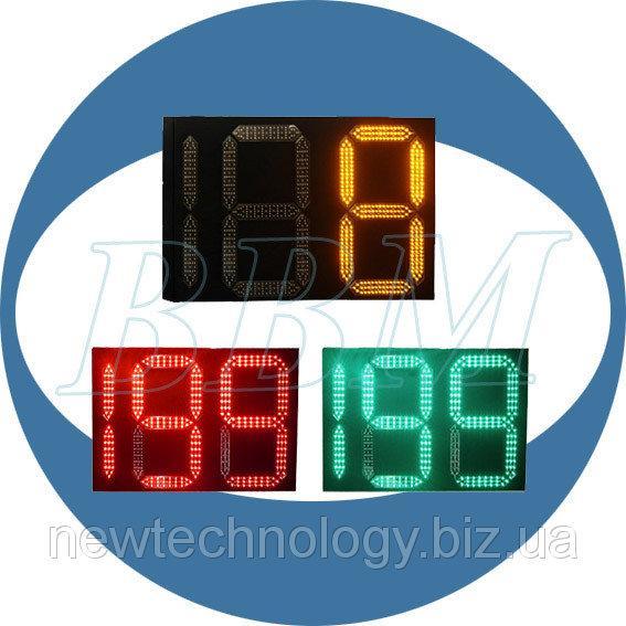 Табло зворотного відліку часу ТВЧ 900 мм