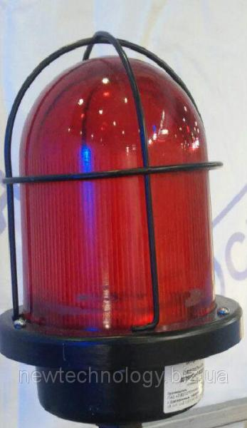 Фото Освітлювальні прилади, Светодиодные светильники специального назначения Светильник сигнальный (заградительные огни) НТУ 06С «с»-200-023 (L-145)