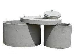 Бетонные кольца крышка дно канализация доставка