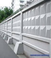 Заборы бетонные ограждения доставка