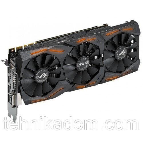 Видеокарта Asus ROG GeForce GTX 1080 STRIX OC 8192MB (STRIX-GTX1080-O8G-GAMING