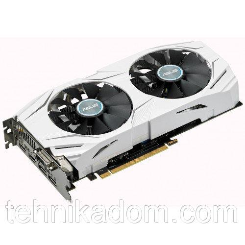 Видеокарта Asus GeForce GTX 1060 Dual OC 6144MB (DUAL-GTX1060-O6G)